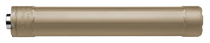 Surefire Ryder 9Ti Suppressor, 9mm, Dark Earth, 1/2x28 TPI