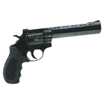 "EAA Windicator 357 Mag/38 Spl 6"" Barrel, Blued Steel Black Rubber Grip"