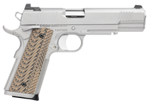 "Dan Wesson Specialist 1911 Full Size, 45 ACP, 5"" Barrel, Steel Frame, Black, G10 Grips, Rail, Ambidextrous Safety, Night Sights 8rd Mag"