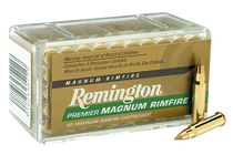 Remington Premier Gold Box 22WinMag AccuTip-V 33 GR 50 Rd Box