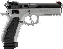CZ SP-01 Shadow Custom 9mm, Dual Tone Gray & Black, 19rd