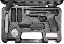 "Smith & Wesson M&P M2.0 Spec Series Full Size, 9mm, 5"" Barrel, Black No Manual Safety, Tritium Night Sights, 17Rd, 2 Mags"