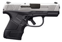 """Mossberg MC1sc Sub-Compact 9mm, 3.4"""" Barrel, 2-Tone, Manual Safety, 3 Dot, 6rd-7rd Mags"""