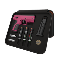Byrna HD Kinetic Kit - Hot Pink Non-Lethal Self Defense Weapon, 2- 5rd Mags, No Permits or Background Checks, No Chemical/Pepper CA Compliant