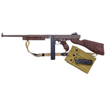 "Auto Ordnance Iwo Jima Commemorative M1 Thompson Rifle, 45 ACP, 16.5"" Barrel, Engraved Olive DrabGreen under Distressed Copper Cerakote, 30rd Mag"