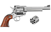 Ruger Blackhawk Stainless Steel, .357 Mag W/ 9mm Conversion Cylinder