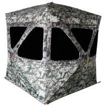 "Walkers Infinity 3 Person 3-person ground blind ""Cervidae"" 600D coated fabric 82"" x 82"""