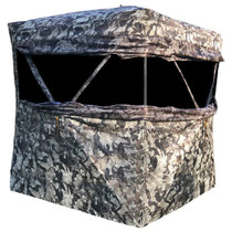 "Walkers Infinity 2 Person Ground Blind Cervidae 600D Coated Fabric 58"" x 58"" x 72"""