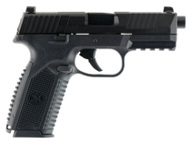 "FN LE 509 9mm Double NMS 4.25"" 17rd Black Interchangeable Backstrap Grip Black Polymer Frame Black Slide"