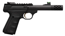 "Browning Buck Mark Plus Micro Bull- Suppressor Ready 22 LR 4.40"" 10+1 Matte Black Aluminum Slide Black Ultragrip FX Grip"
