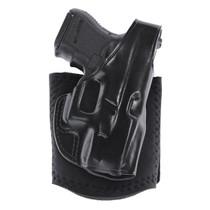 Galco Ankle Glove Black Steerhide Ankle fits Glock 48, RH