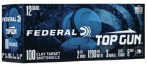 "Federal Top Gun 12 Ga, 2.75"", 1 1/8oz, 8 Shot, 100rd Box"
