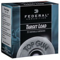 "Federal Top Gun 12 Ga, 2.75"", 1 1/8oz, 8 Shot, 25rd Box"