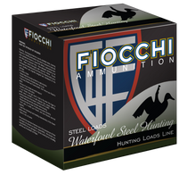 "Fiocchi Shooting Dynamics Waterfowl  12 Ga, 3"", 1 1/5oz, 4 Shot, 25rd Box"