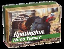 """Remington Nitro Turkey 12 Ga, 2.75"""", 1 1/2oz, 4 Shot, 10rd Box"""