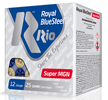 "Rio Royal BlueSteel Super Magnum 12 Ga, 3.5"", 1-3/8oz, BB Shot, 25rd Box"