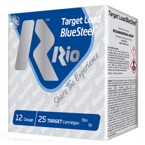 "Rio Target Load BlueSteel 12 Ga, 2.75"", 1oz, 7 Shot, 25rd Box"