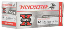 "Winchester Super-X Heavy Game Load 12 Ga, 2.75"", 1 1/8oz, 7.5 Shot, 100rd Box"