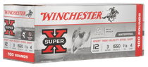 "Winchester Super-X Xpert High Velocity 12 Ga, 3"", 1 1/8oz, 4 Shot, 100rd Box"