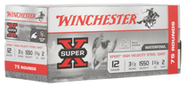 "Winchester Super-X Xpert High Velocity 12 Ga, 3.50"", 1 3/8oz, 2 Shot, 75rd Box"