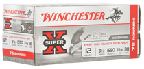 "Winchester Super-X Xpert High Velocity 12 Ga, 3.50"", 1 3/8oz, BB Shot, 75rd Box"