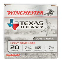 "Winchester Super-X Heavy Game Load 20 Ga, 2.75"", 7 Shot, 25rd Box"