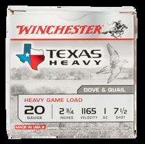 "Winchester Super-X Heavy Game Load 20 Ga, 2.75"", 7 Shot, 25rd Box"