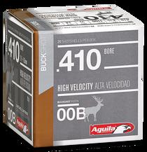 """Aguila Hunting 410 Ga, 2.5"""", Buckshot 1/2oz, 00 Buck, 25rd Box"""