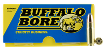Buffalo Bore Hunting & Sniping  458 SOCOM 350gr, Semi Jacketed Flat Point, 20rd Box