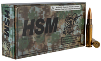 HSM Classics 7.62x51mm 168gr, Sierra MatchKing Boat-Tail Hollow Point, 20rd Box