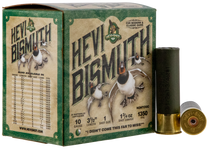 "Hevishot Hevi-Bismuth Waterfowl 10 Ga, 3.50"", 1 3/4oz, 1 Shot, 25rd Box"
