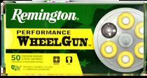 Remington Performance WheelGun  357 Mag 158gr, Lead Semi Wadcutter (LSWC), 50rd Box