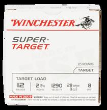 "Winchester Super Target 12 Ga, 2.75"", 1oz, 8 Shot, 25rd Box"