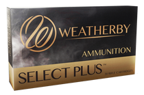 Weatherby Select Plus 300 Weatherby Mag 180gr, Hornady Interbond, 20rd/Box