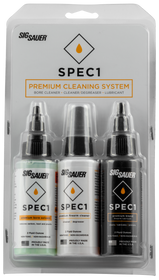 Sig SPEC1 Combo Pack (1) 2oz Degreaser (1) 2oz Lubricant (1) 2oz Solvent