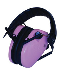 Battenfeld Technologies E-MAX Low Profile Electronic Hearing Protection Pink