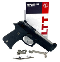 Langdon Tactical Trigger Job In A Bag Beretta 92, 96, M9 not A1 NP3 Nickel Teflon/Stainless Single/Double Curved