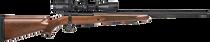 "Mossberg Patriot 7mm Remington Mag, 24"" Barrel, Walnut, 3rd"