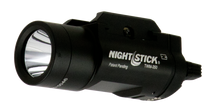 Nightstick Weapon Mounted Tactical Cree Strobe Led 350 Lumens CR123 (2) Battery Black 6061-T6 Aluminum/Anodized