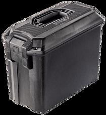 """Pelican Vault Ammo Box 16.27"""" L x 7.9"""" W x 11.93"""" (Exterior) Polyethylene Black"""