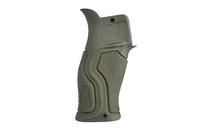 FAB Defense Gradus with Beavertail Pistol Grip AR-15 Polymer/Rubber Olive Drab Green