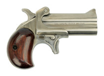 "American Derringer M-1 .45 Colt/410 Ga, Trade-In, 3"" Barrel, Stainless, Leather Holster"