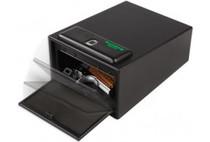 """Bulldog Cases Magnum Biometric Pistol Vault, 11.5""""x8""""x5.5"""", Black"""