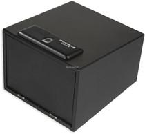 Bulldog Magnum Biometric Pistol Safe Fingerprint ID, 16 Ga Steel, Black