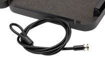 SnapSafe Lock Box Cable 4 ft. Stainless Steel Black