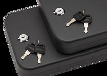 "SnapSafe Lock Box 2 Pack, Keyed, Pistol 11.5"" x 8.5"" x 2.5"", 16 Gauge"
