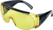 Allen Over Shooting & Safety Glasses Yellow Black