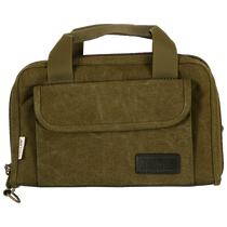 Allen Heritage Select Attache 2 Handguns Olive Canvas Case