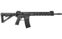 "Troy SPC A4 223 Rem/556mm, 16"" Barrel, Black, Magpul Collapsible Stock, Flip Sights, 30rd"