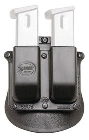 Fobus DOUBLE MAG PADDLE Double Stack Black Plastic, Beretta 9/40